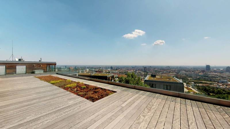 Penthouse with terrace and panoramic views of Koliba